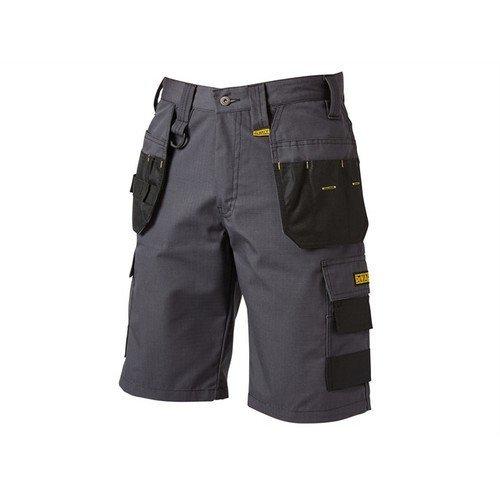 DEWALT CHEVERLEY SHORT 30W Cheverley Lightweight Grey Polycotton Shorts Waist 30in