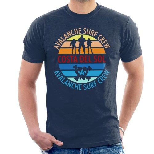 Final Fantasy Costa Del Sol Avalanche Surf Crew Men's T-Shirt