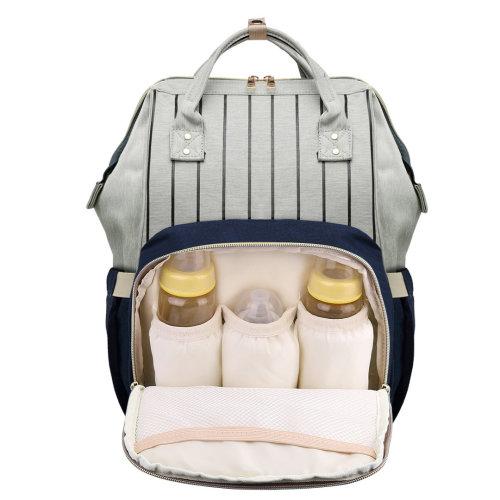 Miss Lulu Baby Diaper Nappy Bag Changing Backpack School Bag Blue