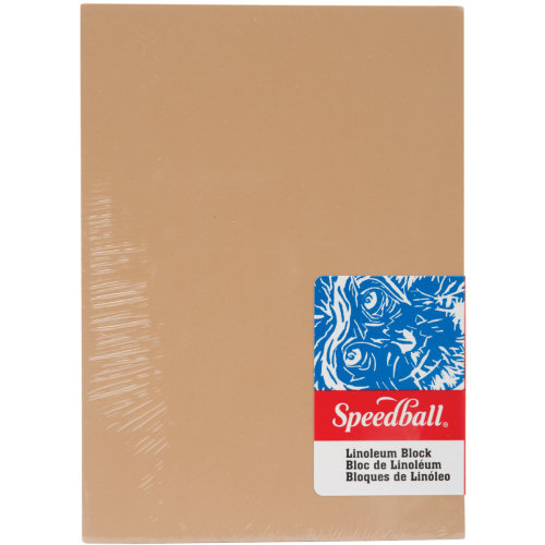"Speedball Linoleum Block-5""X7"""