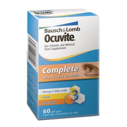 Bausch + Lomb Ocuvite 60 Softgels