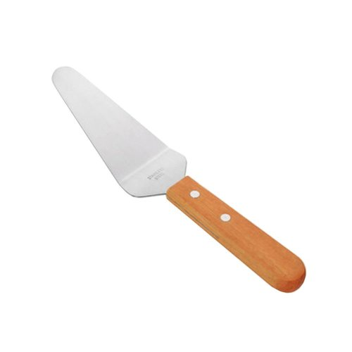 Stainless Steel Pizza Shovel Spatula Cake Cheese Shovel Bakeware Wooden Handle