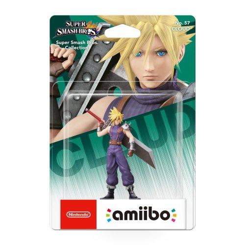 Cloud No.57 Amiibo (Nintendo Wii U)