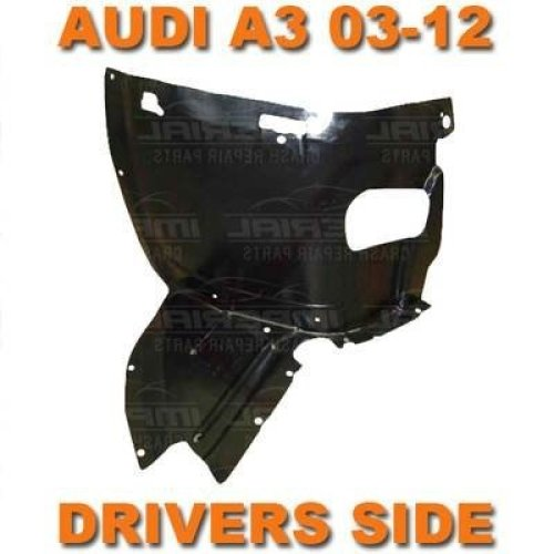 Audi A3 2003-2012 Right Drivers Front Wheel Arch Liner Inner Wing Splashguard