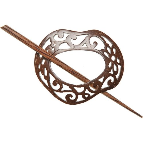Paradise Coconut Shawl Pin-