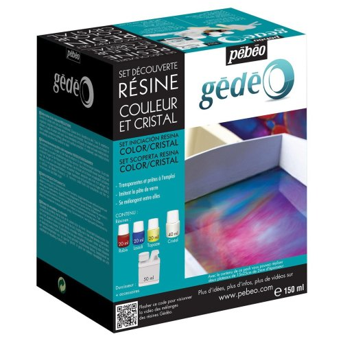 Gedeo Resin Discovery Set, Crystal
