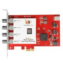 TBS6522 Multi Standard Dual Tuner PCI-e TV Tuner DVB-S / DVB-T / DVB-C (Satellite, Terrestrial, Cable) Full HD 1080p & SD