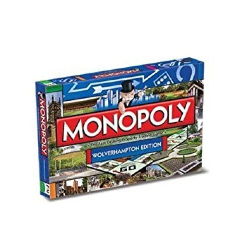 Wolverhampton Monopoly Family Board Game Brand New Sealed