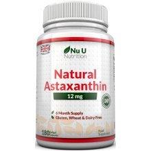 Nu U Nutrition Astaxanthin Premium Strength  – 180 Softgels (6 Months worth)