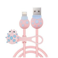 Charging Cable-Ipone Cable with Line Manager, Cute Incect Pattern USB Line-A1