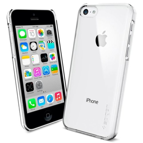 the latest a29a8 cb807 Case Spigen SGP Ultra Thin Air crystal clear for iPhone 5C