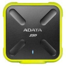 Adata 256Gb SD700 External USB3.1 SSD - Yellow