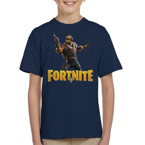 Fortnite Yellow Raptor Skin Kid's T-Shirt