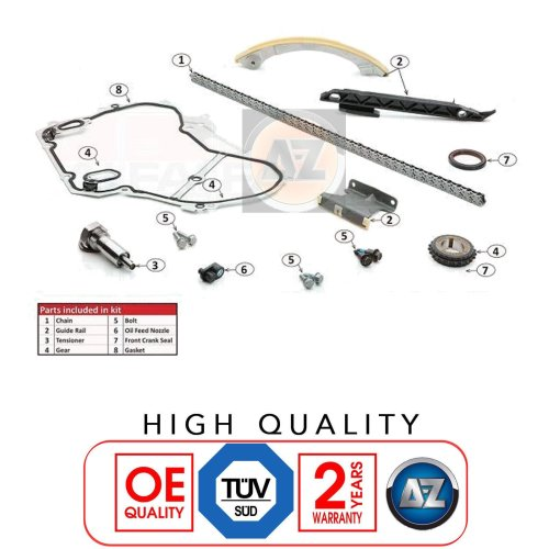 FOR ALFA ROMEO 159 BRERA SPIDER 1.9 JTS 2.2 JTS PETROL ENGINE TIMING CHAIN KIT