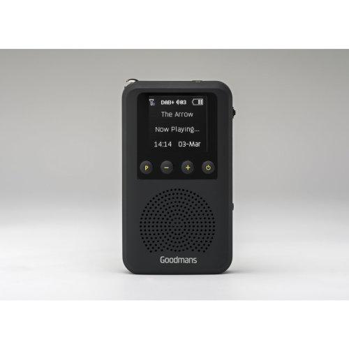 Goodmans GDPRDAB Portable Digital Black radio