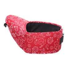 Baby Carrier Single Waist Stool Seat Carrier,oxford fabric Baby Carrier Red