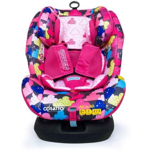 Cosatto All in All Group 0+123 Car Seat - Fairy Clouds