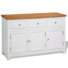 vidaXL Sideboard 110x33.5x70 cm Oak