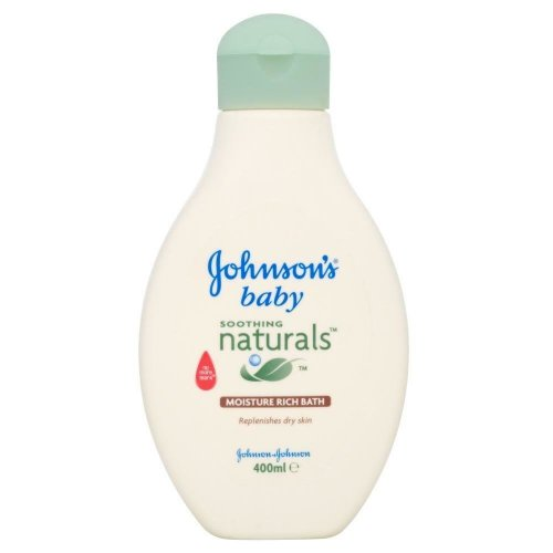 Johnson's Baby Soothing Naturals Moisture Rich Bath