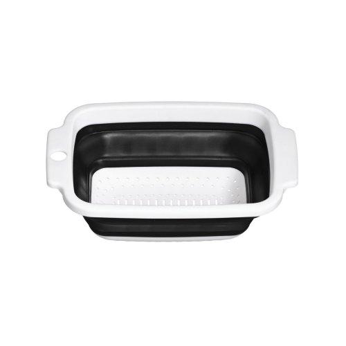Zing Colander - 15 cm, Black/White