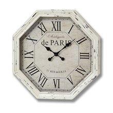 Antiquite De Paris Octagonal Cream Wall Clock - Lovely Addition Home -  antiquite de paris octagonal cream wall clock lovely addition home