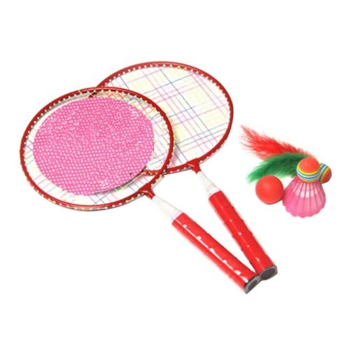 Cute Children Sports Racket Toys Tennis/Badminton Racket-Red