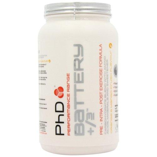 Phd Nutrition Battery +/3 - 1kg - Orange and Mango