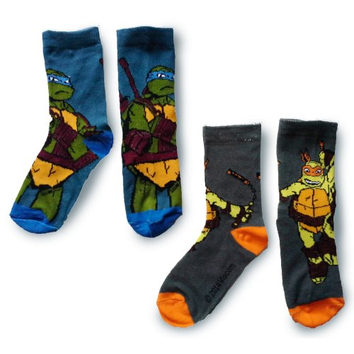 Turtles Socks - Pack of 2 - Design 2