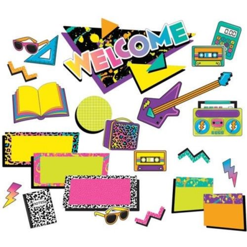 Eureka EU-847049 Rock The Classroom Mini Bulletin Board Borders