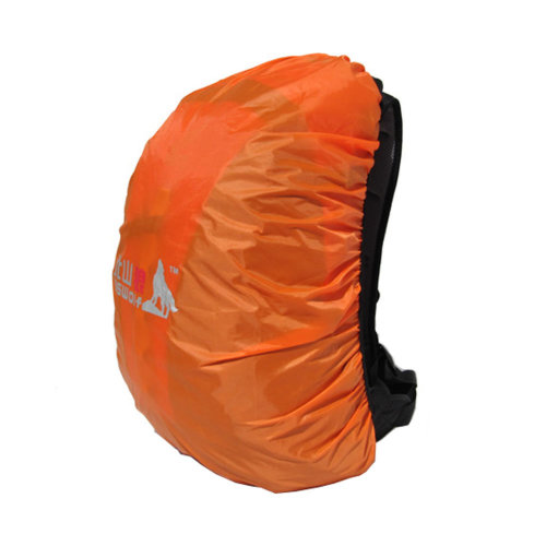 (Orange) Camping/Hiking Water-proof Backpack Rain/Snow Cover, Size S, 20-30L
