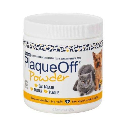 (1 Tub) ProDen PlaqueOff Powder - 180g | Pet Plaque Remover