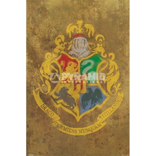 Harry Potter (hogwarts Crest) - Hogwarts Crest Poster New Maxi 61 915cm -  hogwarts crest poster new maxi 61 915 cm