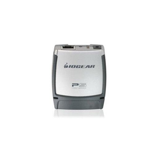 iogear USB 2.0 Print Server, 1-Port Ethernet LAN print server