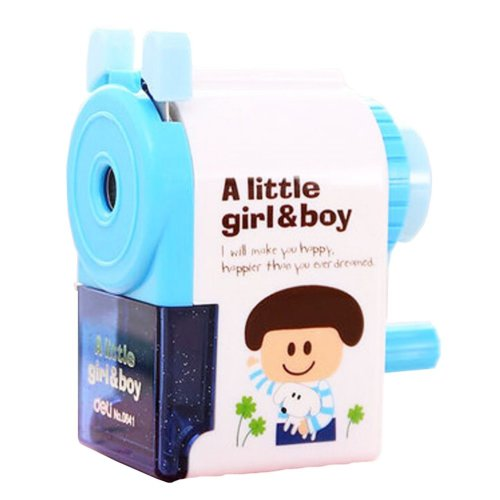 Lovely Office & School Supplies Hand Rotating Pencil Sharpener - Boy