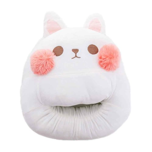 Multi-use Washable Winter Plush Slipper USB charging Heating Foot Warmer For Home and Office #Rabbit