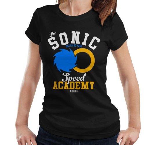 Sonic The Hedgehog Speed Academy Women's T-Shirt