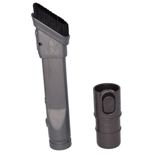 Slim Combination Dusting Brush and Crevice Tool Assembly for Dyson DC25