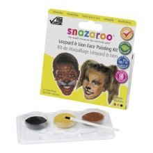 Snazaroo Face Painting Kit - Leaopard & Lion