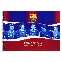 Fc Barcelona Sketch Pad (20 Sheet)