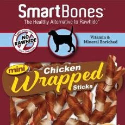 Smartbones Chicken Wrapped Mini Sticks 9 (Pack of 8)
