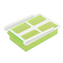 Refrigerator Drawer Style Storage Eggs Boxes Small Things Organizer Green