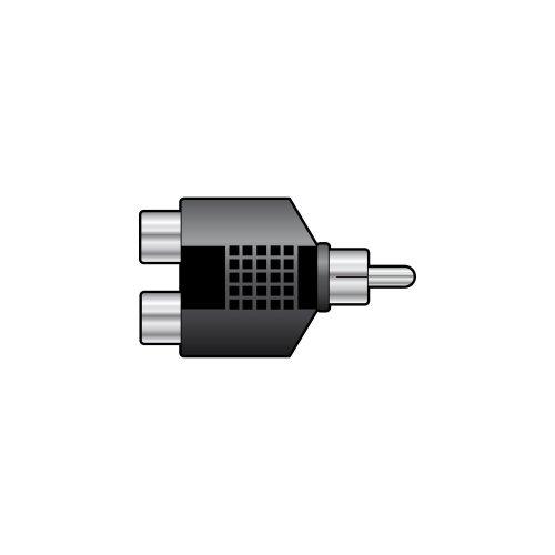 RCA Phono Plug - 2 x RCA Phono Sockets