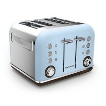 Morphy Richards Accents Special Edition 4 Slice Toaster - Azure (Model 242100)