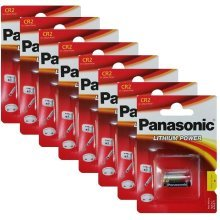 8 x Panasonic CR2 3V Lithium Photo Battery DLCR2 KCR2 CR17355 Camera