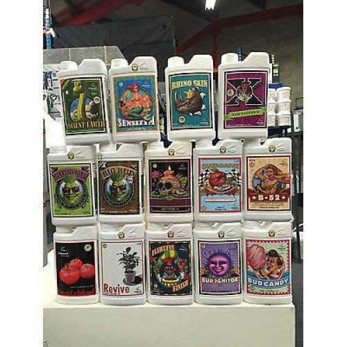 Advanced-Nutrients-Big-Bud-Overdrive-B52 Voodoo Bud-Candy-And-Many more 30 ml
