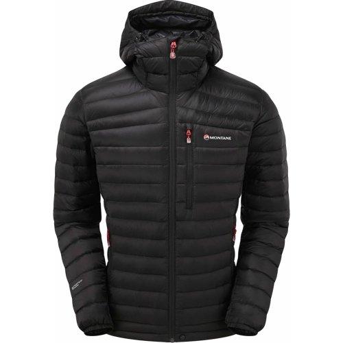 Montane Mens Featherlite Down Jacket Black (Large)