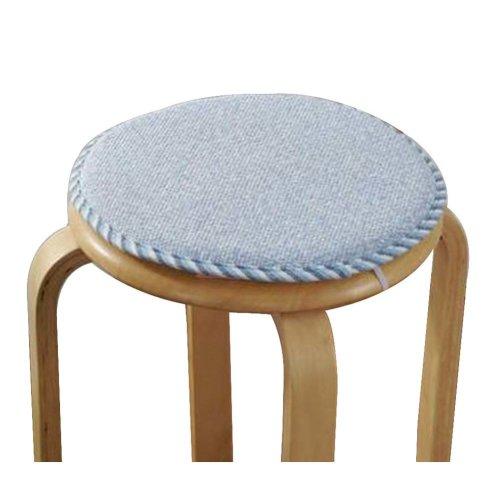 [M] Soft Round Stool Cover Bar Stool Seat Pad