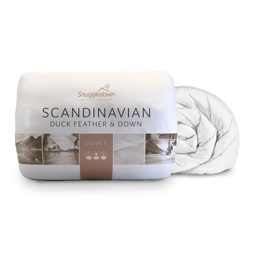 Snuggledown Scandinavian Duck Feather and Down Duvet, 10.5 Tog- King