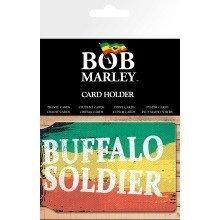 Bob Marley Buffalo Soldier Travel Pass Card Holder