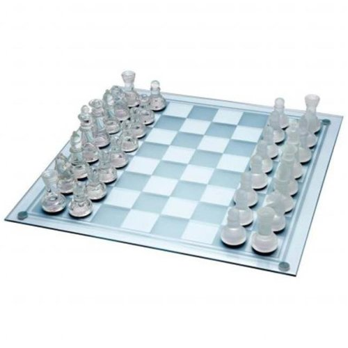 33 pieces Glass Chess Set